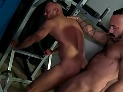 Alcove room rimjob amazingly to anal beside hot bears
