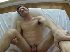 MenPOV Friend surprises his mate with long way fuck